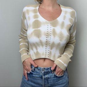Cotton Tie Dye Sweater
